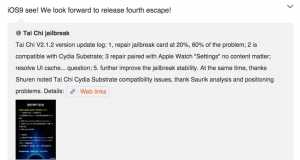 iOS 9 jailbreak TaiG CEO