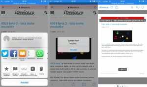 iOS 9 salvare pagina PDF