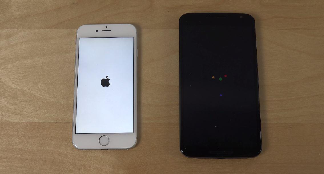 iOS 9 vs Android M - comparatia vitezei