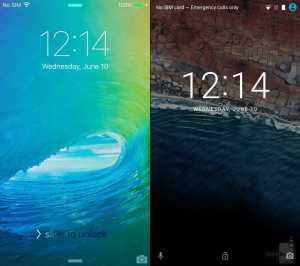iOS 9 vs Android M - comparatie