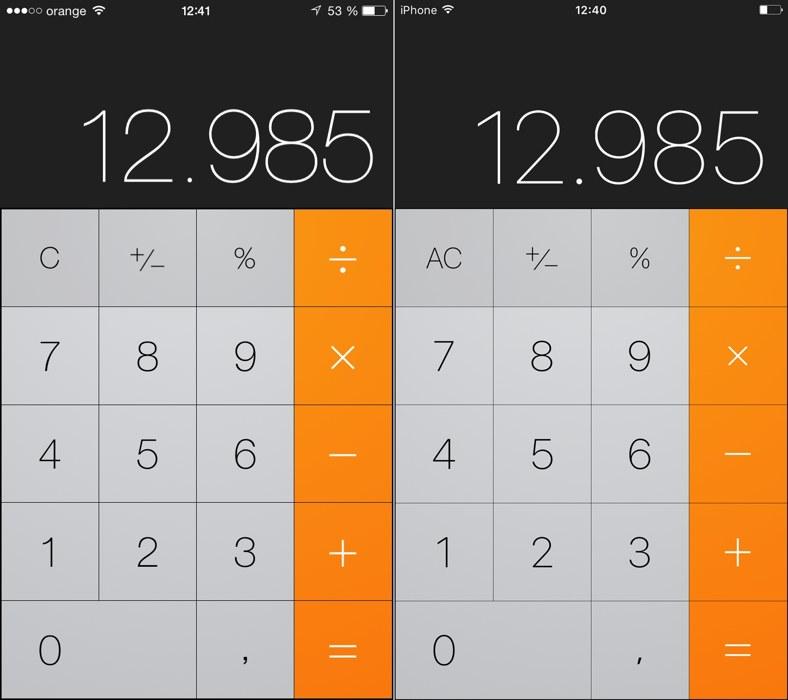 iOS 9 vs iOS 8 font 1