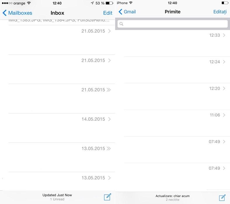 iOS 9 vs iOS 8 font 2
