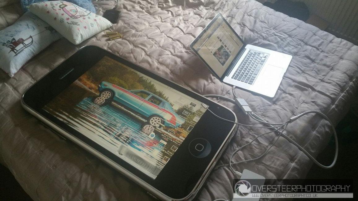 iPhone 3G monitor Mac