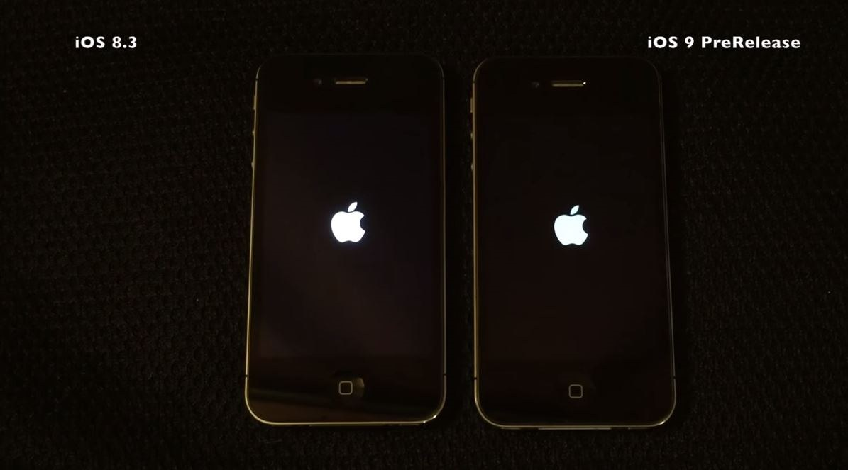 iPhone 4S iOS 9 vs iOS 8.3 vs iOS 7.1.2