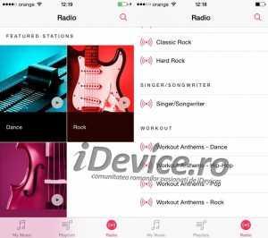 iTunes Radio in Romania
