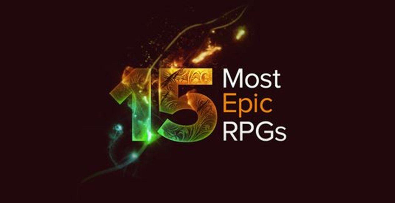 15 RPG epice