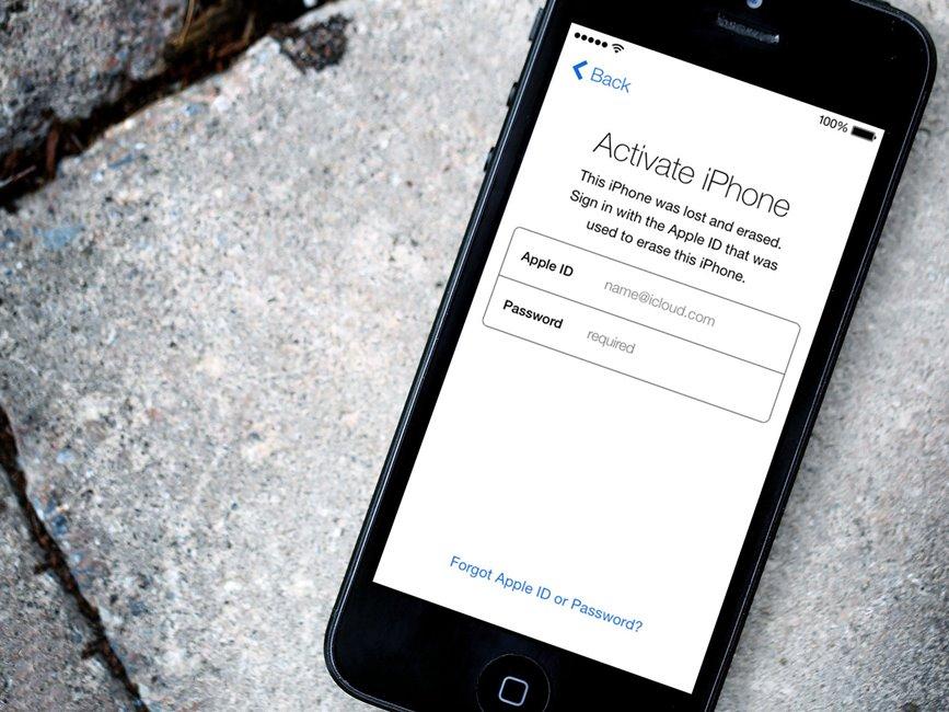 Activation Lock iOS