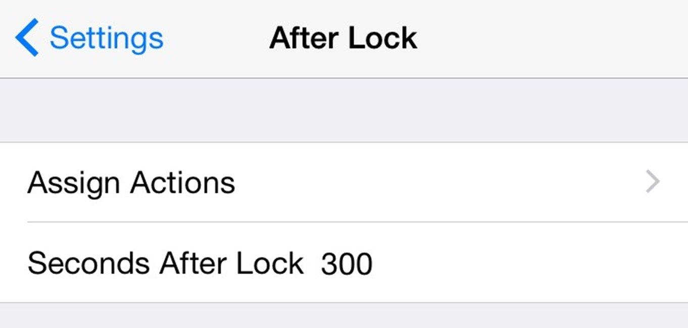 AfterLock