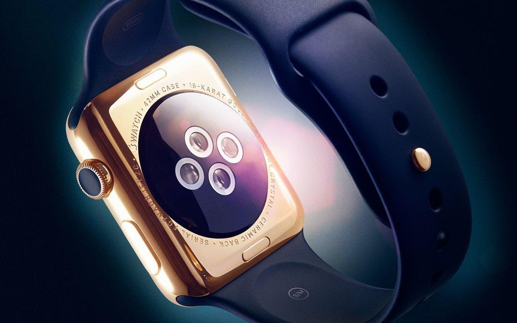 Apple Watch 2 baterie, ecran