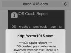 Atac phishing iOS
