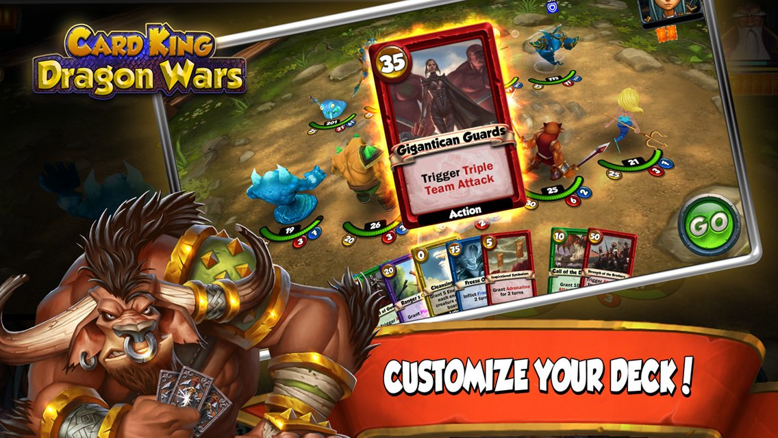 Card King Dragon Wars