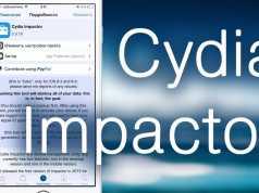 Cydia Impactor diferenta iLexRat SemiRestore