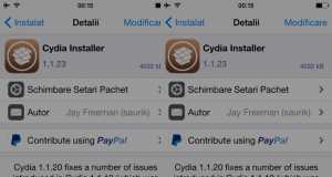 Downgrade tweak Cydia