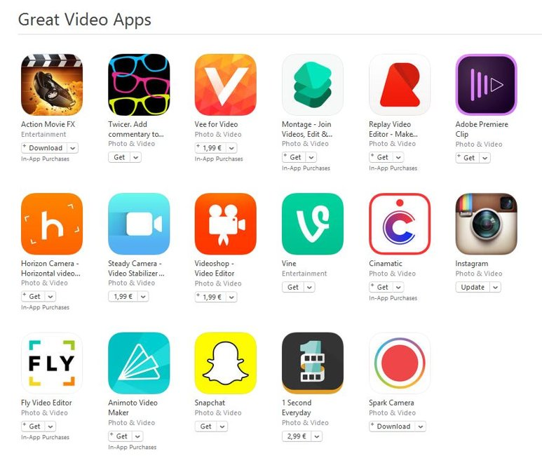 Great Video Apps