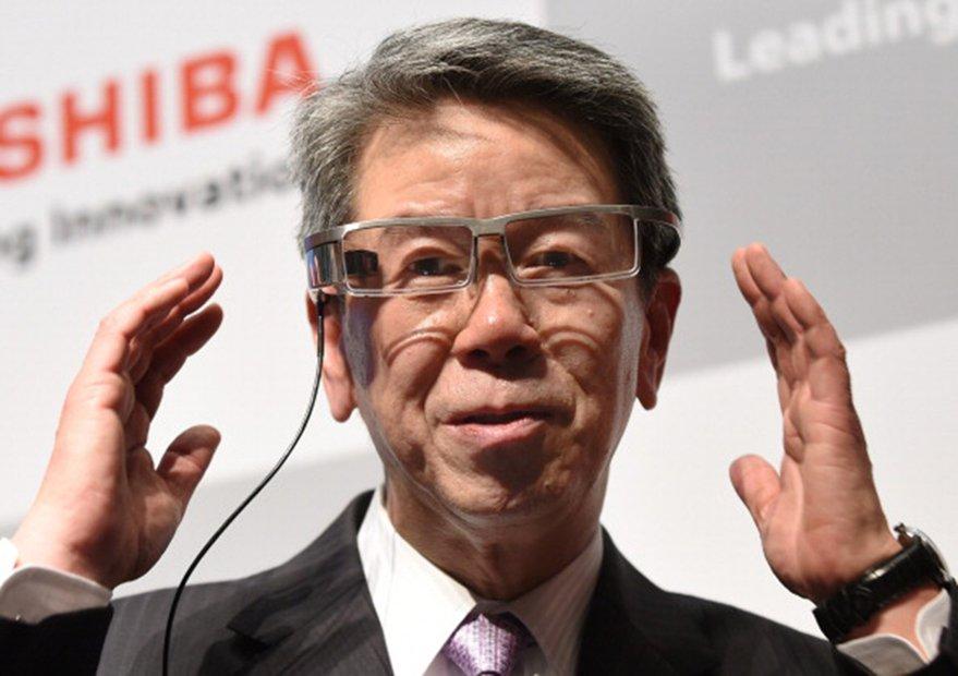 Hisao Tanaka CEO Toshiba