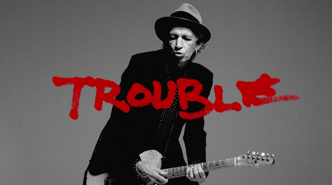 Keith Richards Trouble