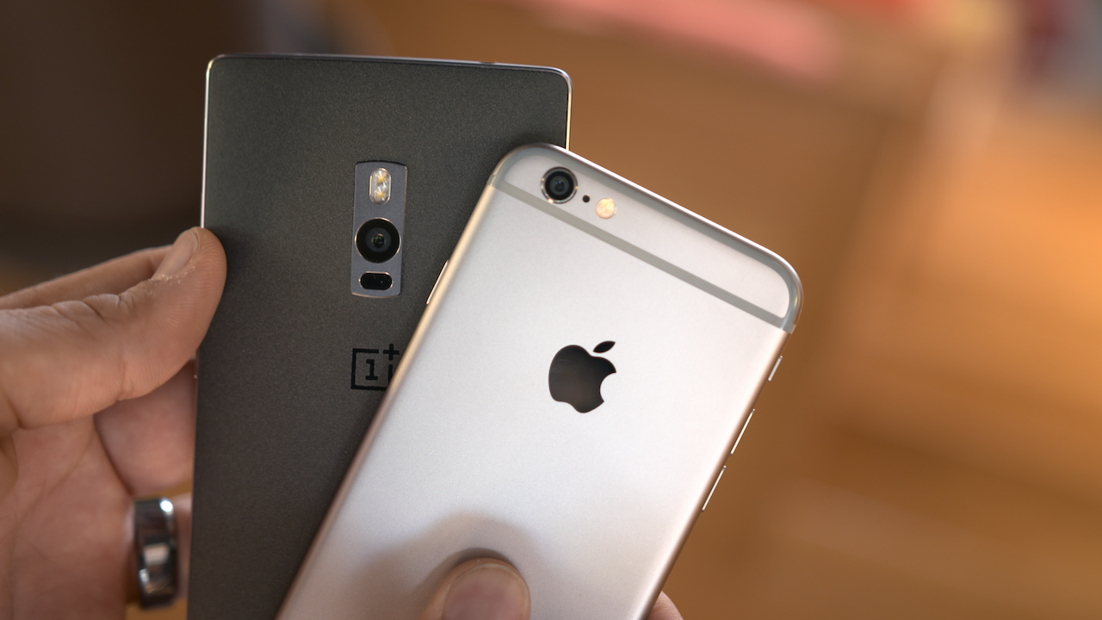 OnePlus 2 vs iPhone 6 comparatie detaliata
