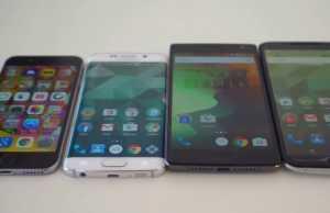 OnePlus 2 vs iPhone 6 vs Samsung Galaxy S6 Nexus 6