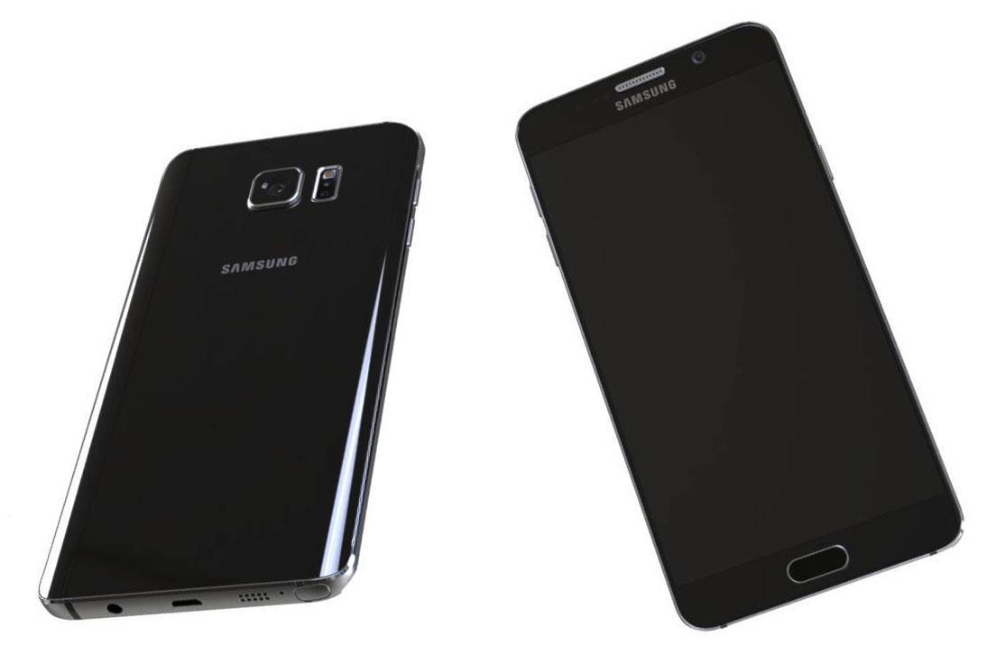 Samsung Galaxy Note 5 imagini presa