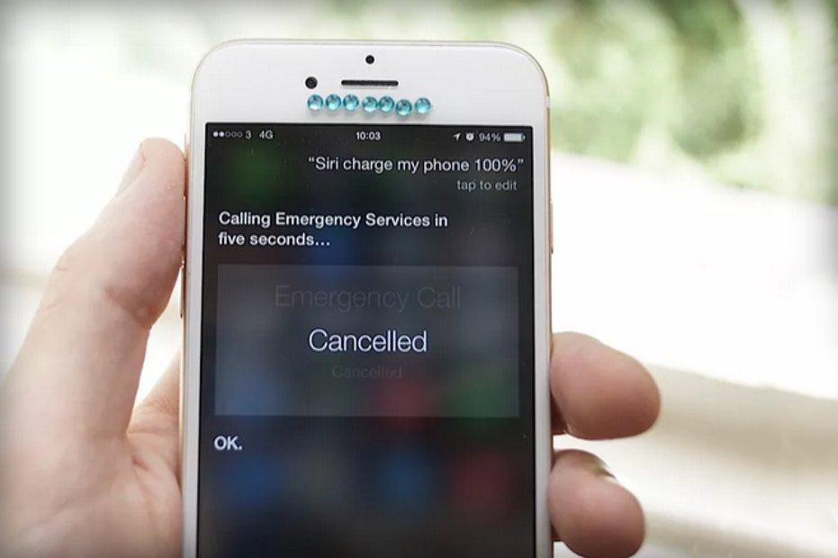 Siri incarcare apelare servicii urgenta