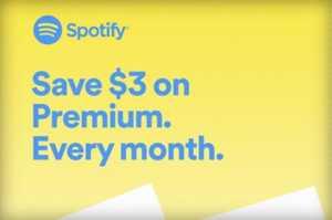 Spotify abonament Apple