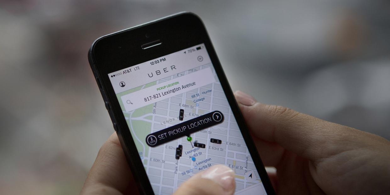 Uber masini false aplicatie