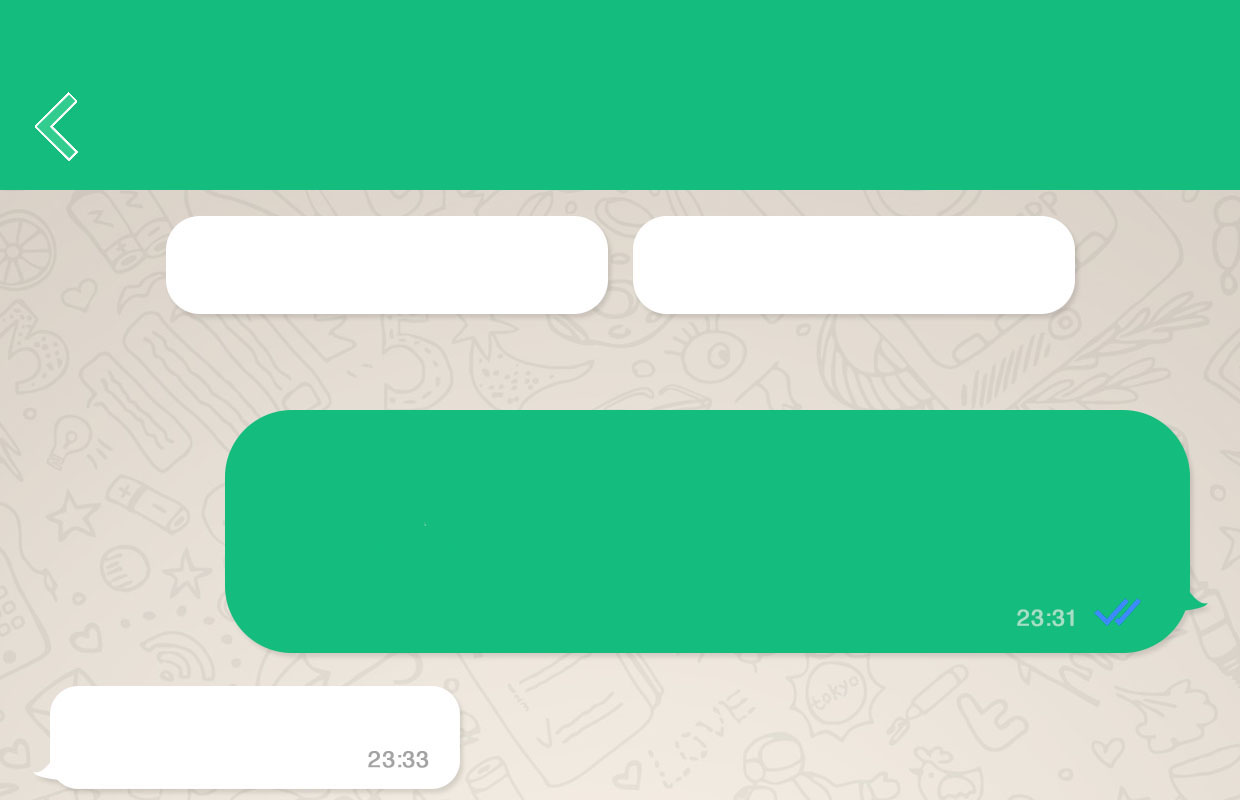 WhatsApp Messenger iOS 9 interfata noua