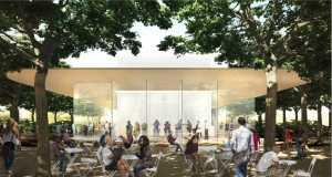 cafenea Apple Campus 2