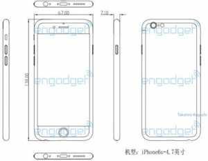 dimensiuni iPhone 6S