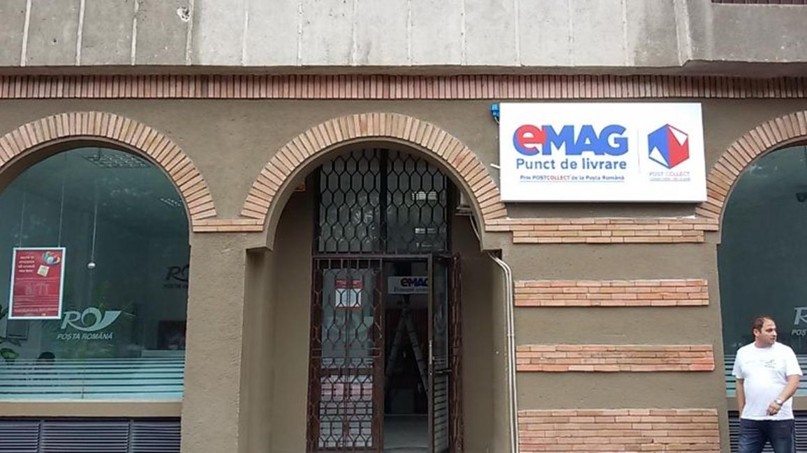 eMAG parteneriat Posta Romana livrare