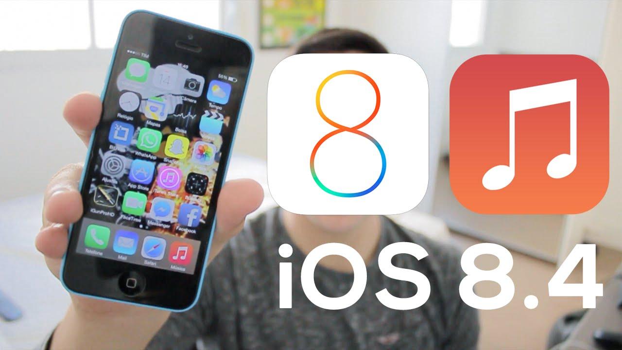 iOS 8.4 autonomie baterie