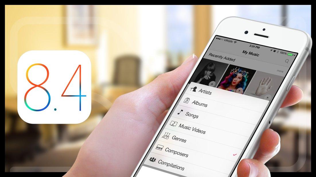 iOS 8.4 performante