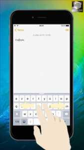 iOS 9 KeyboardSelection