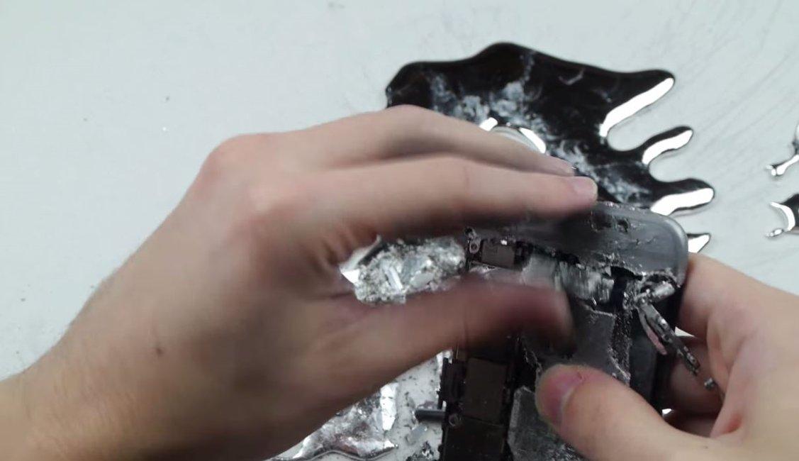 iPhone 6 carcasa dezintegrata galiu