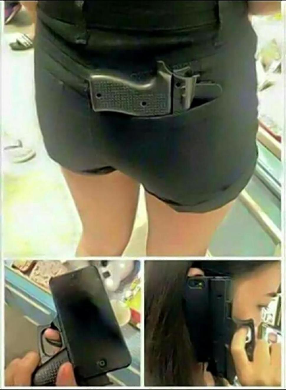 iPhone 6 carcasa pistol 1