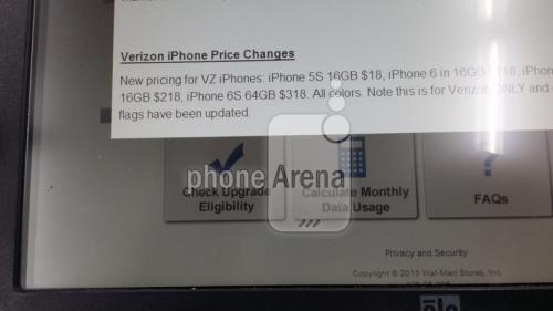 iPhone 6S pret document oficial 2