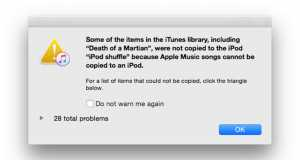 iPod Apple Music piratare