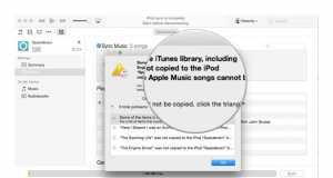 iPod Nano Shuffle sincronizare muzica