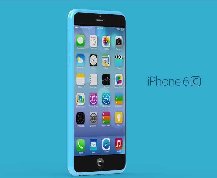 imagine bateria iPhone 6C