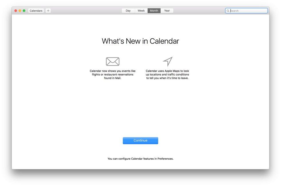noutatile OS X El Capitan beta 3