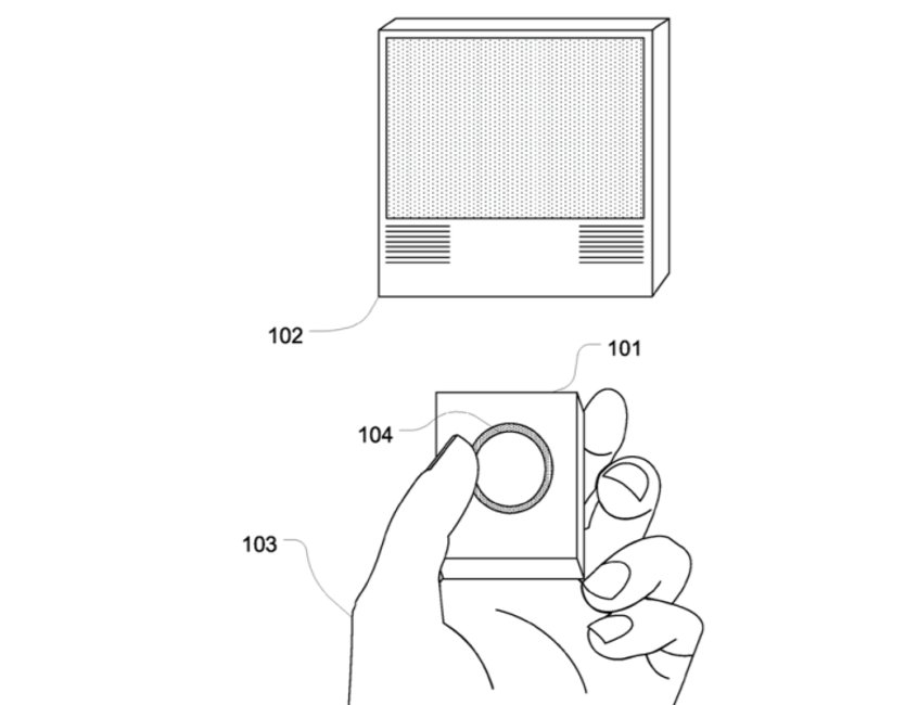 telecomanda Apple TV Touch ID