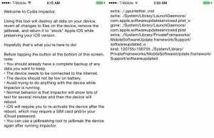 tutorial dezinstalare jailbreak Cydia Impactor