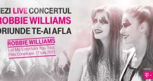 vezi concert Robbie Williams online
