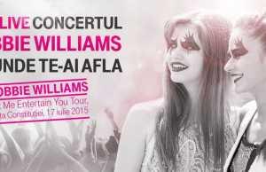 vezi concert Robbie Williams online