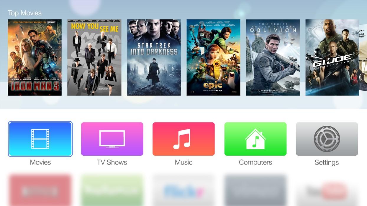 Apple TV 4 telecomanda tactila