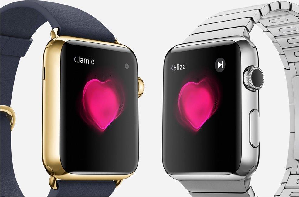Apple Watch batai inima