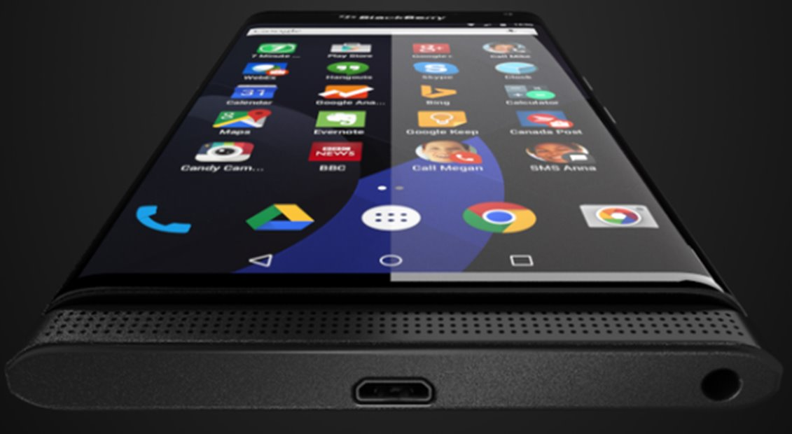 Blackberry Venice smartphone Android