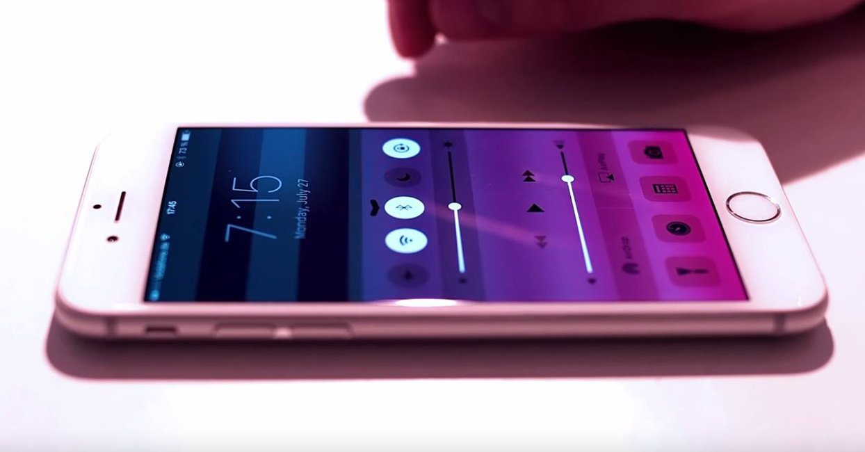 Force Touch iPhone 6S iOS 9