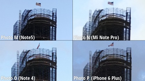 Galaxy Note 5 vs iPhone 6 Plus vs Note 4 vs MiNote comparatie camera 2