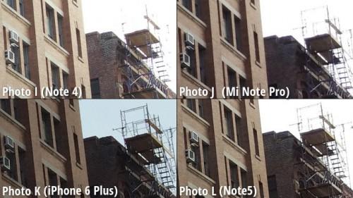 Galaxy Note 5 vs iPhone 6 Plus vs Note 4 vs MiNote comparatie camera 9